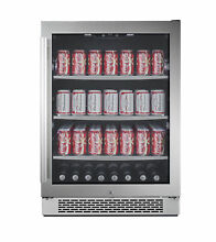 Avallon ABR241SGRH 24 Inch Wide Beverage Center with Right Swing Door