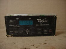 Whirlpool Range Timer Clock w  Damaged Overlay Part   6610319 8522507