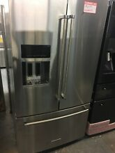 KitchenAid KRFF707ESS 26 8 cu ft  Stainless Steel Refrigerator
