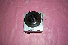 OEM GE DRYER TIMER WITH KNOB   963D123G038 SEE PICTURES   ITS A BARGAIN