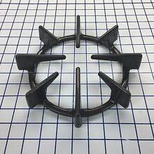 Genuine OEM GE SINGLE BURNER GRATE WB31T10004 Porcelain Gray