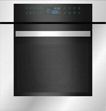 Empava 24  10 Cooking Functions Electric Built in Convection Single Wall Oven