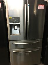 Samsung RF22KREDBSR 36  Counter Depth French Door Refrigerator Stainless Steel