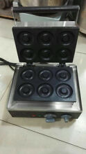 Electric Mini Donut Waffle Machine Small Kitchen Home Appliance 410MM 385MM