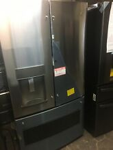 GE GFD28GSLSS 36  Stainless French Door Refrigerator