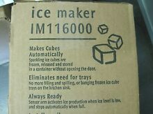 NEW  Frigidaire Top Mount Refrigerator Ice Maker Kit   IM116000