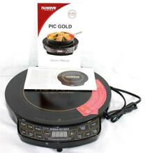 NuWave Pic Gold Model No 30211 Precision Induction Cooktop NIP w  Manual