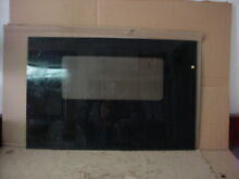 Frigidaire Range Door Glass Black Part   316089000
