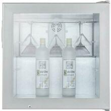 Summit Commercial 23 Inch 2 0 Cu  Ft  Countertop Vodka Chiller   Stainless Steel