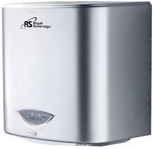 Electric Hand Dryer 110 Volt Touchless Auto Sensor Powerful Air Nozzle Gray