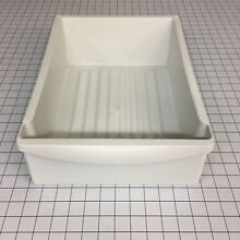 NEW Genuine OEM Frigidaire WHITE MEAT PAN W O GRAPHICS 240530801