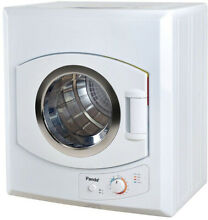 Electric Dryer 3 75 cu  ft  110V 1500W Removable Lint Filter Stainless Steel Tub