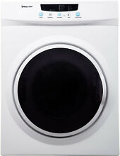 Magic Chef 3 5 Cu  Ft  Compact Electric Dryer In White Home Appliance Laundry