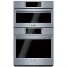 Bosch 800 Series 30  1000W QuietClose Speed Combination Oven HBL8752UC Images