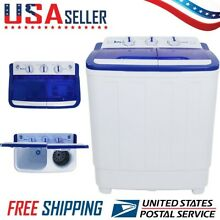 NEW 16LBS Semi automatic Portable Washing Machine Twin Tub Washer US Standard