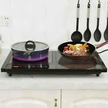 Electric Dual Induction Cooker Camping Cooktop