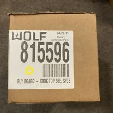 Wolf Cooktop Relay Board 815596 A1
