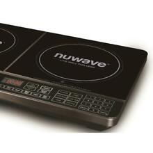 NuWave Mosaic Precision Induction Electric Glass Surface Portable Double Cooktop