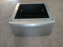 Samsung washer and dryer pedestals silver