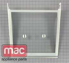 Whirlpool KitchenAid OEM W10739612 Refrigerator Glass Shelf Assembly