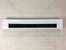 NEW Genuine OEM KitchenAid Whirlpool Microwave Oven CONTROL PANEL WPW10347784