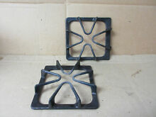 Whirlpool Range Burner Grate w  Wear Stains Lot of 2 Part   8522858