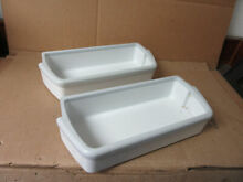 Kenmore Whirlpool Refrigerator Fridge Section Door Shelf Lot of 2 Part   2179575