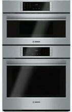 Bosch 800 Series 30  10 Cooking Program Microwave Combination Oven HBL87M52UC SS