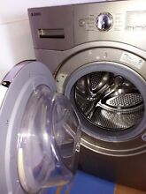 Working Asko Extra Large 27 Inch Front Load Washer WL6532XXLPP in Platinum Color