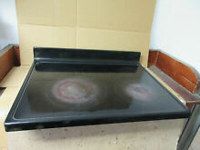 Whirlpool Range Glass Cooktop Black Some Wear Part   W10162033 W10651915