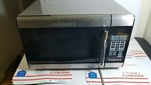 Cuisinart CMW 100 1 cu  ft  Stainless Steel Microwave Oven