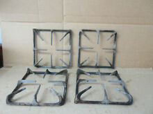 Maytag Range Burner Grate Very Stained Lot of 4 Part   71003116