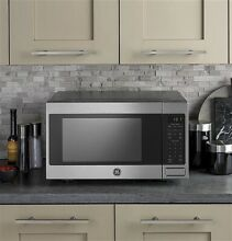 GE JES1657SMSS 1 6 Cu Ft Stainless Steel Countertop Microwave Oven