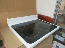 GE Range Glass Cooktop Nice Condition Part   WB62X20856