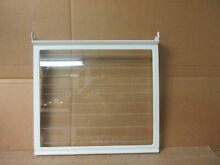 Kenmore Whirlpool Refrigerator Glass Shelf Assembly Part   2174057