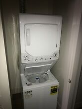 GE GUD24GSSJ0WW Washer and Dryer Combo Set