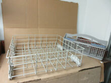 Kenmore Whirlpool Dishwasher Lower Rack w  Silverware Basket Part   W10253539