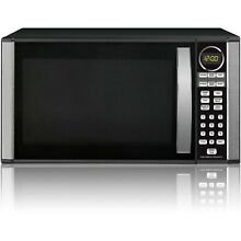 Hamilton Beach 1 3 cu  ft  Microwave Oven  Black