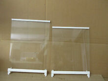 Kenmore LG Refrigerator Freezer Shelf Set 1 Each Part   AHT73943936 AHT73493938