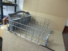 Kenmore Whirlpool Dishwasher Lower Rack Silverware Basket Part   W10525646