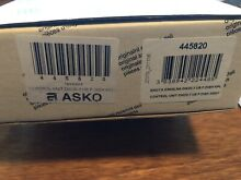 ASKO 445820 Dishwasher Control Unit  Condition is New