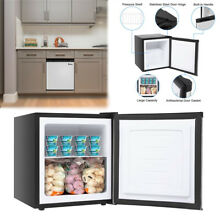 Compact Mini Upright Freezer Refrigerator Dorm 1 1CU FT Small Fridge Office Home