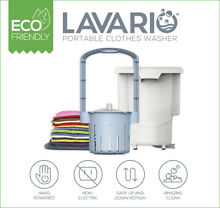 Lavario Portable Clothes Washer  Non Electric Washing Machine