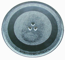 GE Microwave Glass Turntable Plate   Tray 13 1 2  WB49X10176