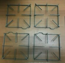 GE Kenmore Hotpoint Gas Range Burner Grate  set of 4  Part   WB31K10017