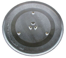 G E  Microwave Glass Turntable Plate   Tray 14 1 8  WB49X10063