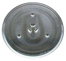 G E  Microwave Glass Turntable Plate   Tray 11 1 4   WB49X10222