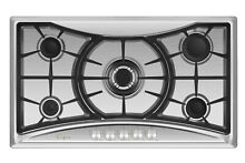 Empava 36  Gas Cooktop 5 Burners NG LPG 12000 BTU Stove Stainless Steel  GC202