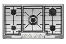 Empava 36  Cooktop 5 Burners Stainless Steel Propane Gas Convertible Stove GC8