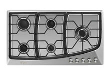 Empava 36  Gas Cooktop 5 Burners Stainless Steel Stove Sealed Cooker GC901